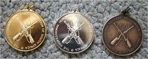 PHASA Medals